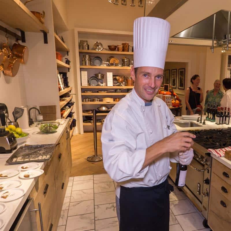 Chef Rick at Willams Sonoma | Santa Ana Sweets